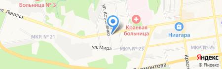Королева на карте Ставрополя
