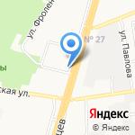 Коракс на карте Ставрополя