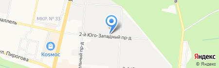 Сигнал на карте Ставрополя