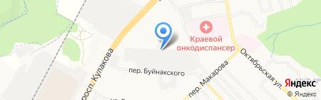 Окна+ на карте Ставрополя