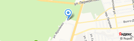 Детский сад №20 на карте Ставрополя