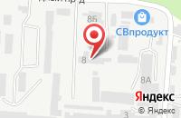 Схема проезда до компании Белая Акация в Ставрополе