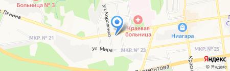 Ангел Concept на карте Ставрополя