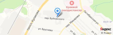 NAPOLI на карте Ставрополя