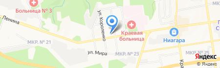 Красная линия на карте Ставрополя