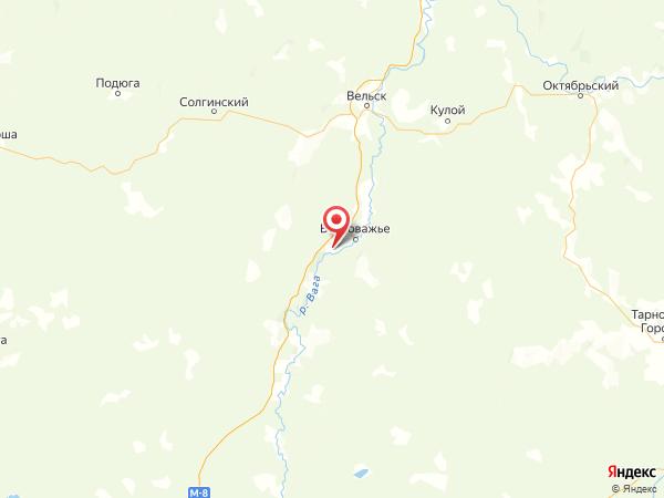 деревня Малое Ефимово на карте