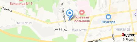 TIKA на карте Ставрополя