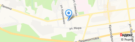 Магнит на карте Ставрополя