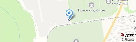 Т.Б.М.-ЮГ на карте Ставрополя