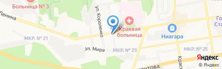 Телефоника на карте Ставрополя