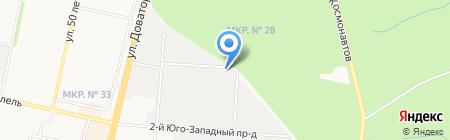 Ставропольсельхозэнерго на карте Ставрополя