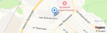 Абсолют Авто на карте Ставрополя