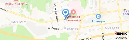 Пивомания на карте Ставрополя