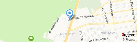 Атлетика на карте Ставрополя
