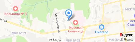 Мир Технологий на карте Ставрополя
