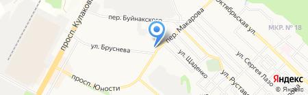 Раковарня на карте Ставрополя