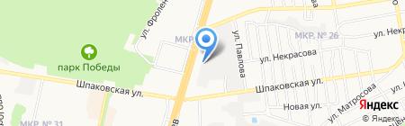 Компания Металл Профиль на карте Ставрополя