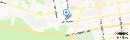 Алмазстрой СПС на карте Ставрополя