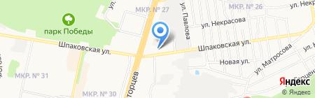 ТИТАН на карте Ставрополя