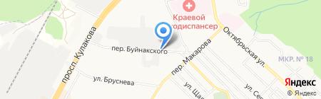 Империя Климата на карте Ставрополя