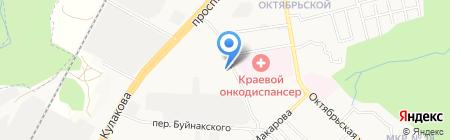 Каспий на карте Ставрополя