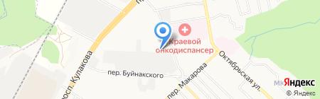 Идеал-2000 на карте Ставрополя