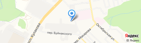 ЮгСервис на карте Ставрополя