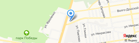 Нотариус Дзугова Ф.К. на карте Ставрополя
