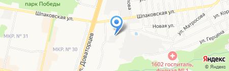 Simmetria на карте Ставрополя
