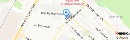 Висали на карте Ставрополя