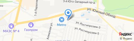 Строитель на карте Ставрополя
