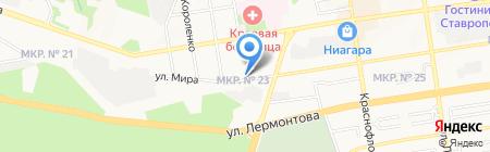 Успех на карте Ставрополя