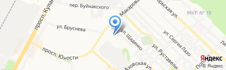 Храм Блаженной Ксении Петербуржской на карте Ставрополя