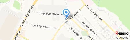 Вершина на карте Ставрополя