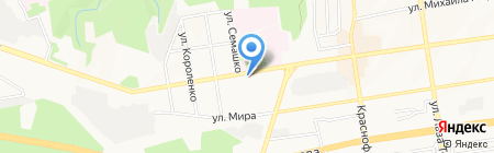 Незабудка на карте Ставрополя