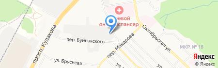 Лайм на карте Ставрополя