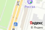 Схема проезда до компании КМВтелеком в Ставрополе
