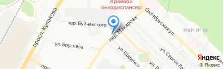 Bravo на карте Ставрополя