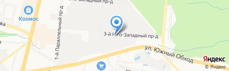 Ставреахим на карте Ставрополя