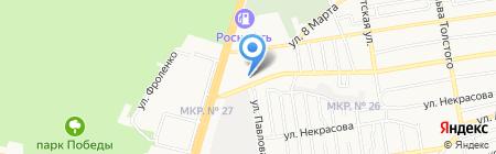 СТАВ ПЛЮС на карте Ставрополя