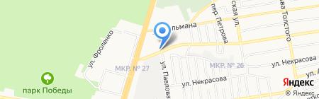 Пилюля на карте Ставрополя
