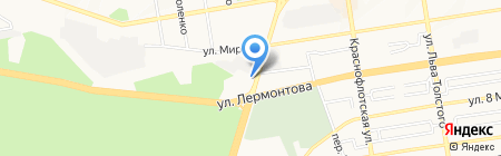 Зодиак на карте Ставрополя