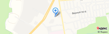 Северок на карте Ставрополя