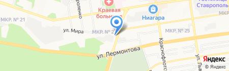 Западные электрические сети на карте Ставрополя