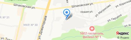 Ставрополькоммунэлектро на карте Ставрополя