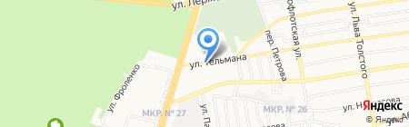 Продовольственный магазин на карте Ставрополя