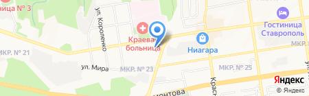 Адвокатский кабинет Назаретяна В.Х. на карте Ставрополя