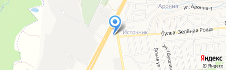 Skoda на карте Ставрополя