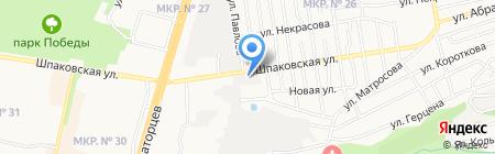 Модистка на карте Ставрополя