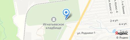 Церковная лавка на карте Ставрополя